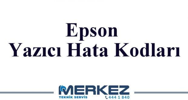 Epson Yazıcı Hata Kodları