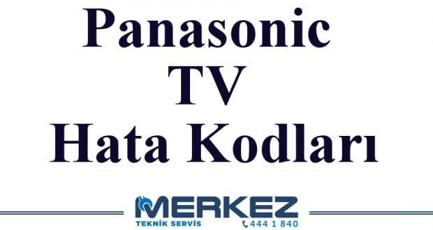 Panasonic TV Hata Kodları